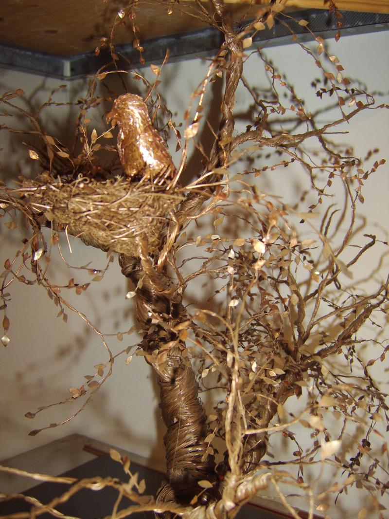 CREATIVE ENERGY  The Eagles TreeCopper Sculpted Tree