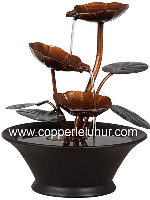 Ornamen Air Mancur, sumber : Copper Leluhur