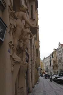 Art on the buildings