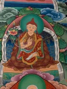 5-1-004 Gyurmed Thekchok Dorje lineage wall