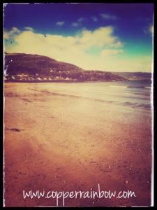Glenarm beach