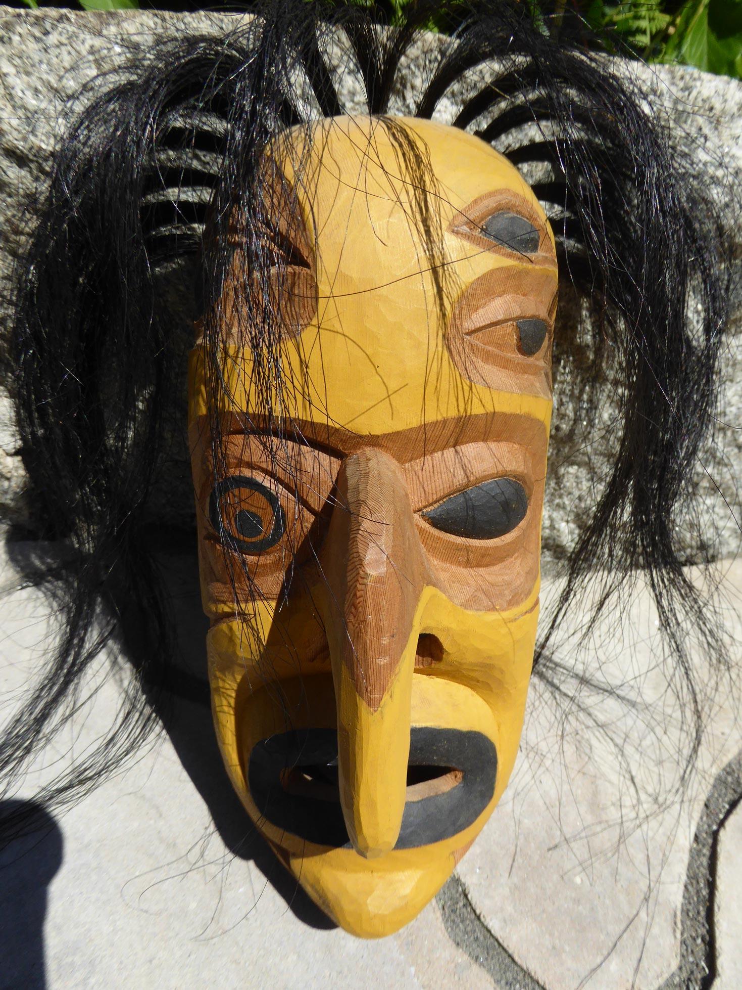 Native American Mask Worksheet