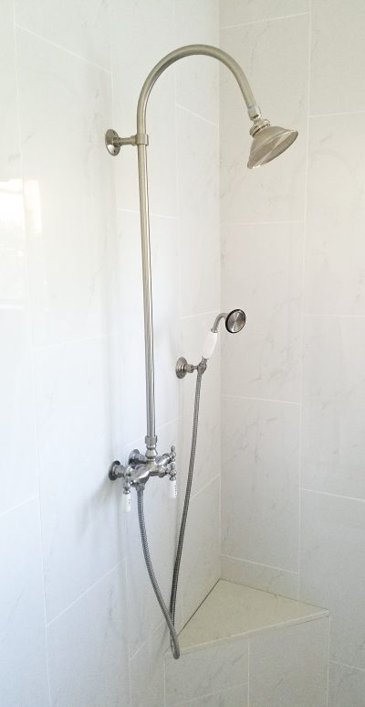 Gallery: Shower head and Handle Install