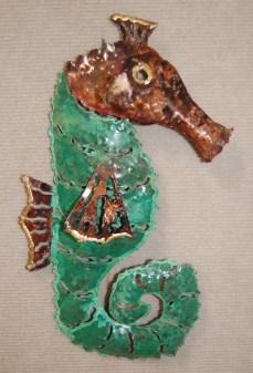 Seahorse - gree