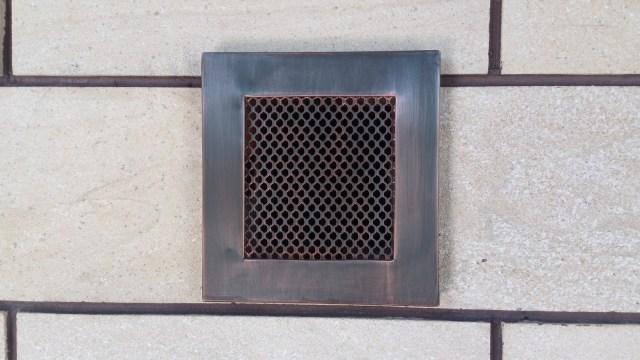 Вентиляционная решетка прямоугольного сечения