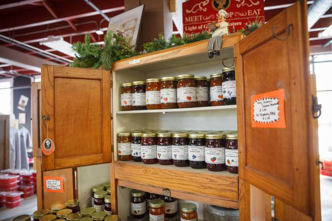 Nappanee Bakery Jams and Jellies