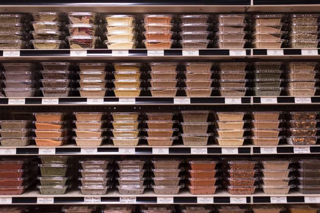 Culinary Mill Spice Wall