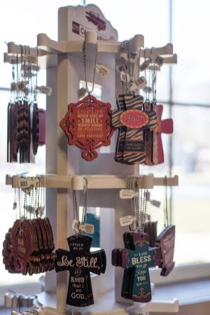 Light of Grace Bookstore Encouragement Keychains
