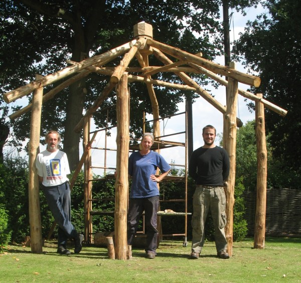 Roundwood Timber Framing Coppicer