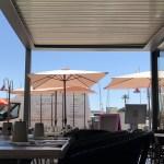 Pergola Bioclimatique Pour Terrasse De Restaurant A Cote De Sete Avec Rideaux De Verre Herault 34 Coprobat