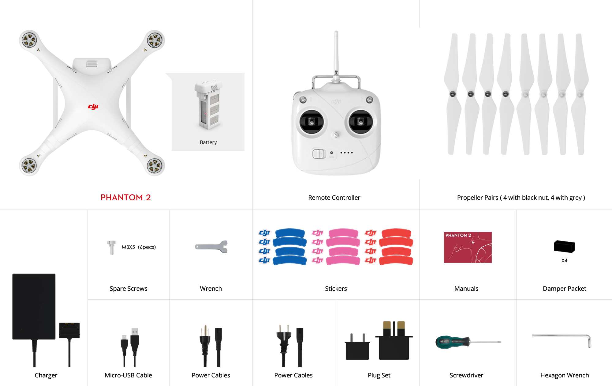 Quadcopter DJI Phantom 2 version 2