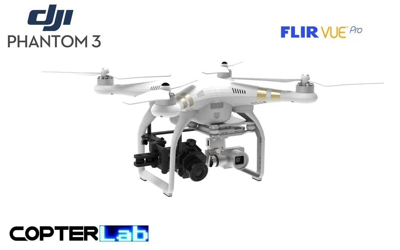 1 Single Pitch Axis Flir Vue Pro Micro Gimbal for DJI