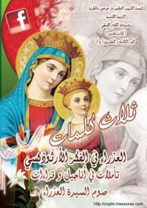 غلاف ثلاث كلمات - العذراء في الفكر الأرثوذكسي 2012 - د.أنسي نجيب سوريال.jpg