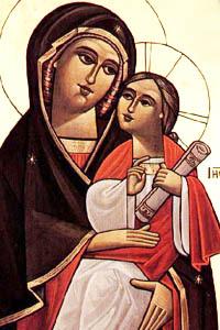 صورة القديسة العذراء مريم