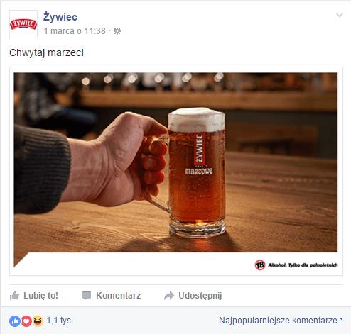 Facebook/ Żywiec
