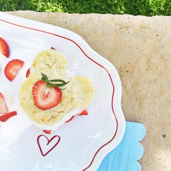Mickey Strawberry Shortcakes