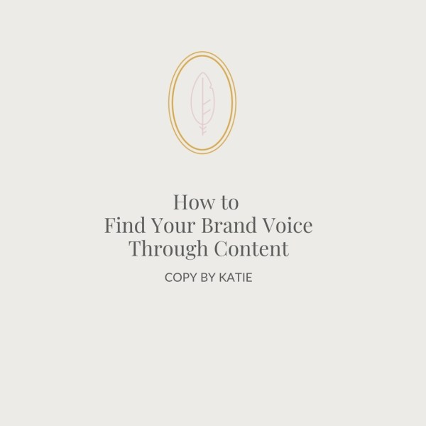 How to Find Your Brand Voice Through Content