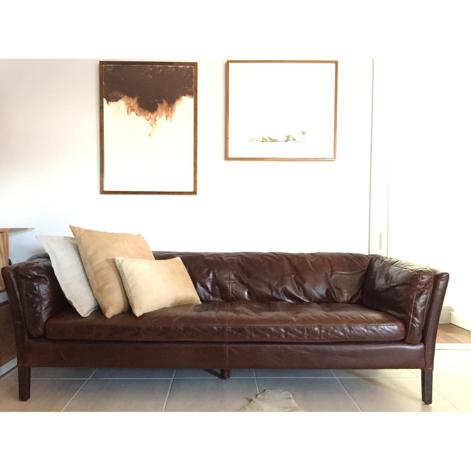 Restoration Hardware Leather Chairs Restoration Hardware Sorensen Leather Sofa Copy Cat Chic