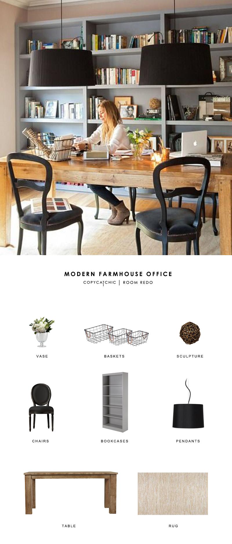 Modern Farmhouse Office Chair : modern, farmhouse, office, chair, Modern, Farmhouse, Office, Copycatchic
