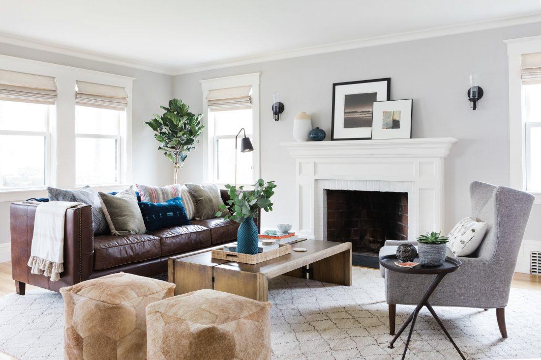 Boho Modern Living Room - Copycatchic