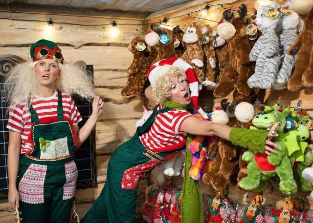 enchanted elf visits barnsley