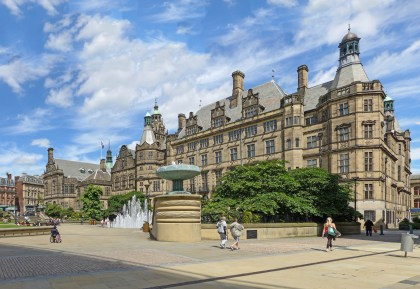 party venues in sheffield, photo of sheffield town hall