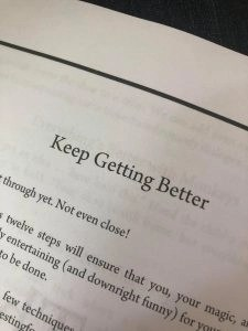 keep getting better