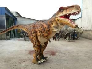 dinosaur hire barnsley, realistic dinosaur costume
