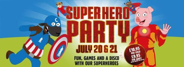 SUPERHERO PARTY COPYCAT