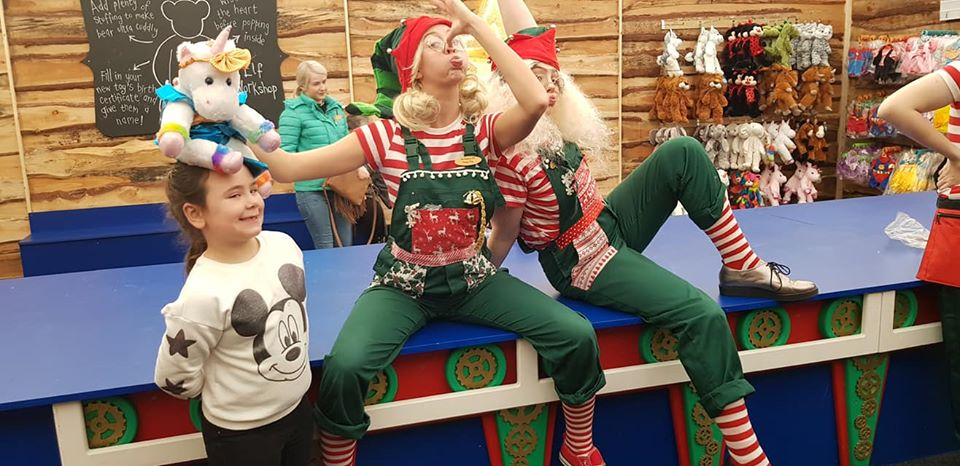 elves workshop at cannon hall farm, christmas booking request