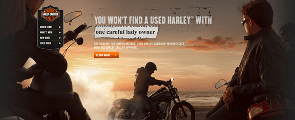 How Harley Davidson persuades