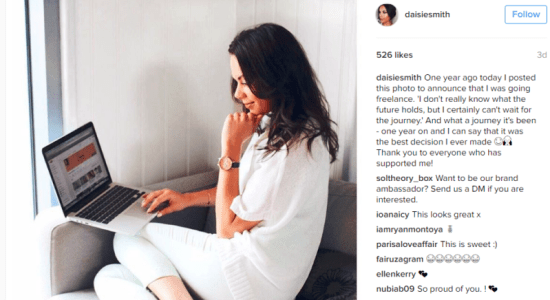 instagram freelancer
