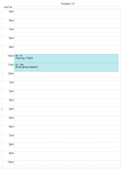 Image in Google Calendar