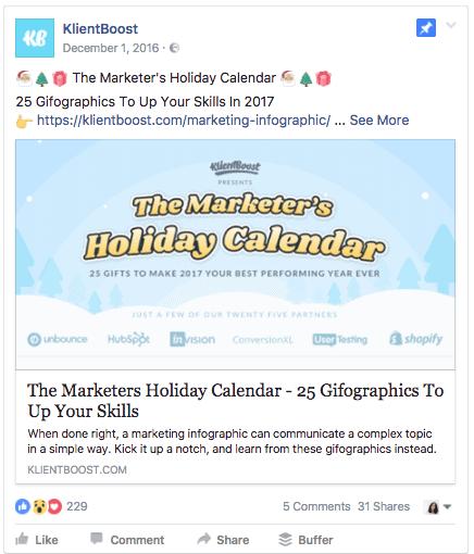 Emojis in Facebook ads KlientBoost 1