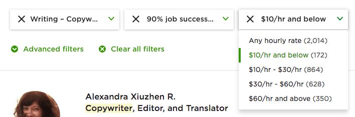 Hundreds of seemingly skilled freelancers