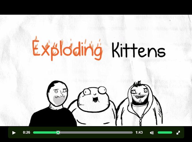 Exploding Kittens Video Still