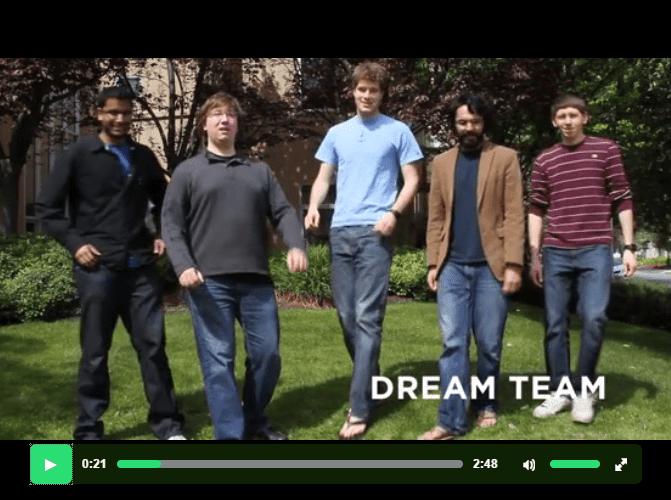 Pebble Dream Team Shot