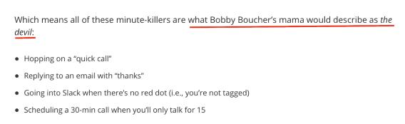 Bobby Bouchers mama