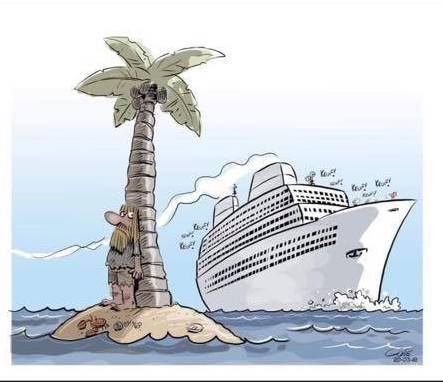 cruise ship coronavirus meme hiding