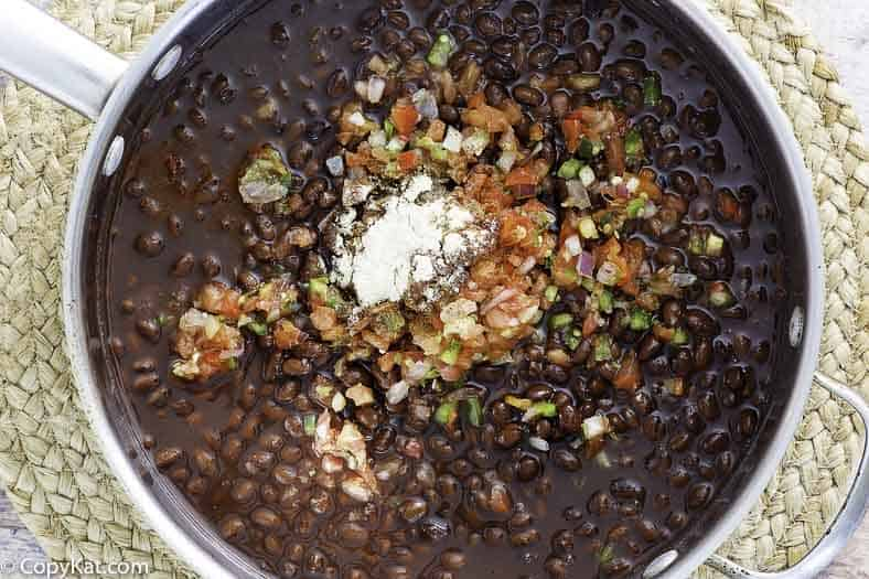 , Chilis Black Beans Vegan Recipe