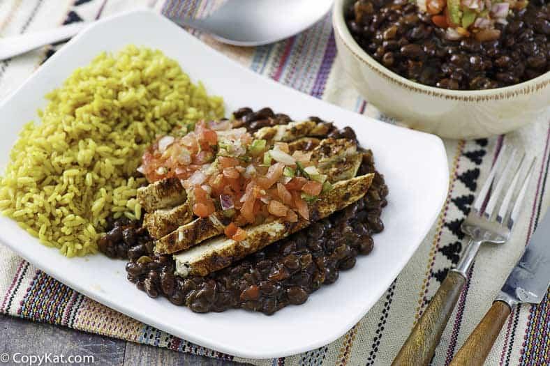 , Chilis Black Beans Vegan Recipe