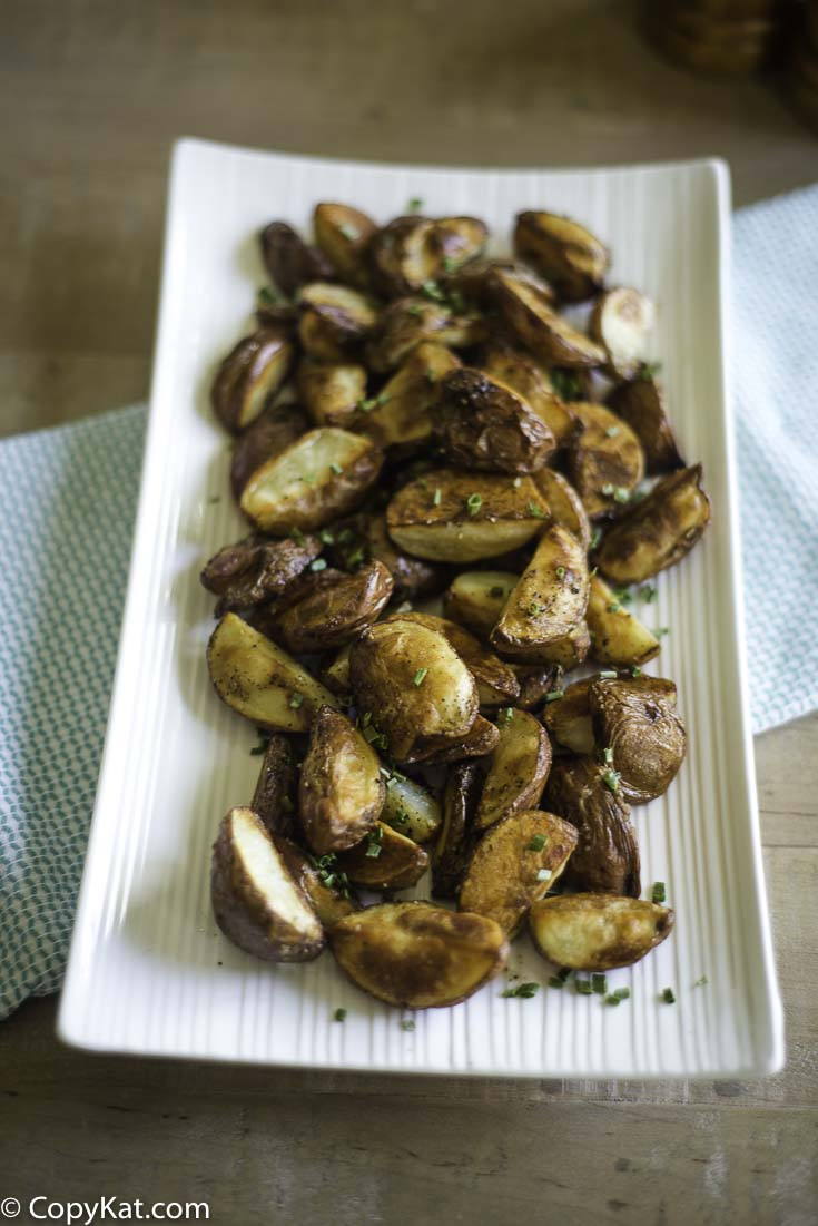, Easy Oven Red Roasted Potatoes