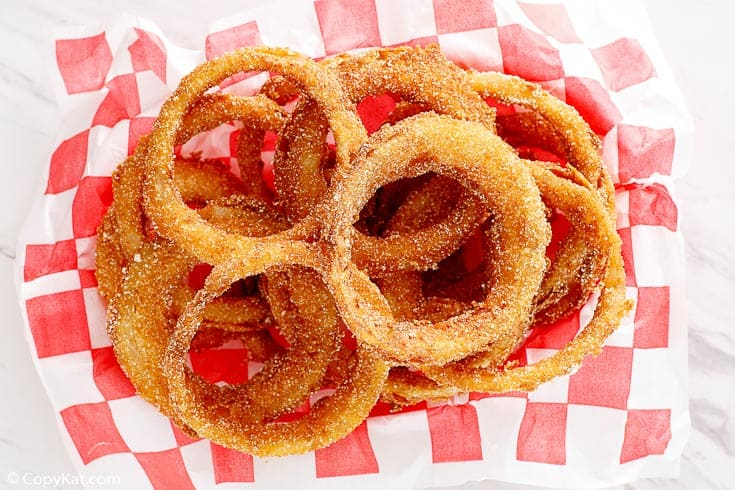 , Dairy Queen Onion Rings