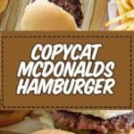 , How to Make old fashioned McDonalds Hamburger