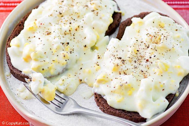 , Creamed Eggs on Toast | CopyKat Recipes