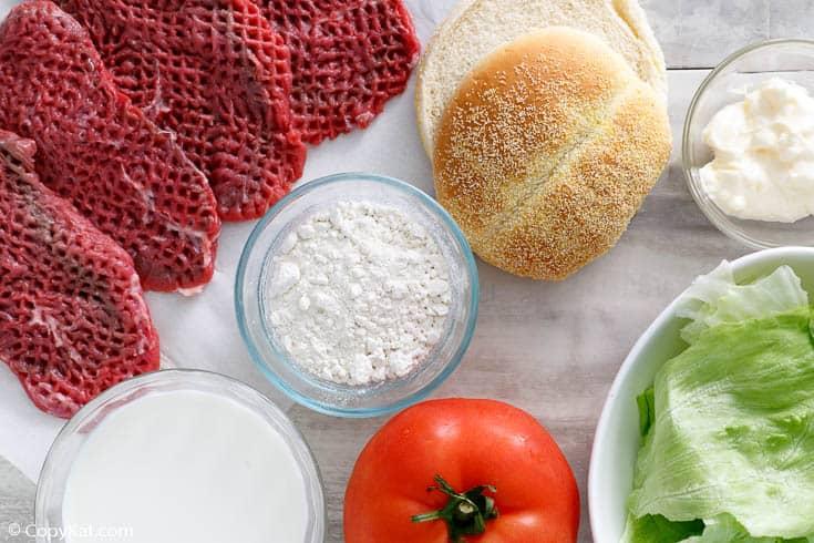 , Dairy Queen Dude Chicken Fried Steak Sandwich Recipe