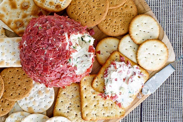 , Dried Beef Cheese Ball – CopyKat Recipes