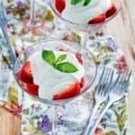 , La Madeleine Strawberries Romanoff | CopyKat Recipes