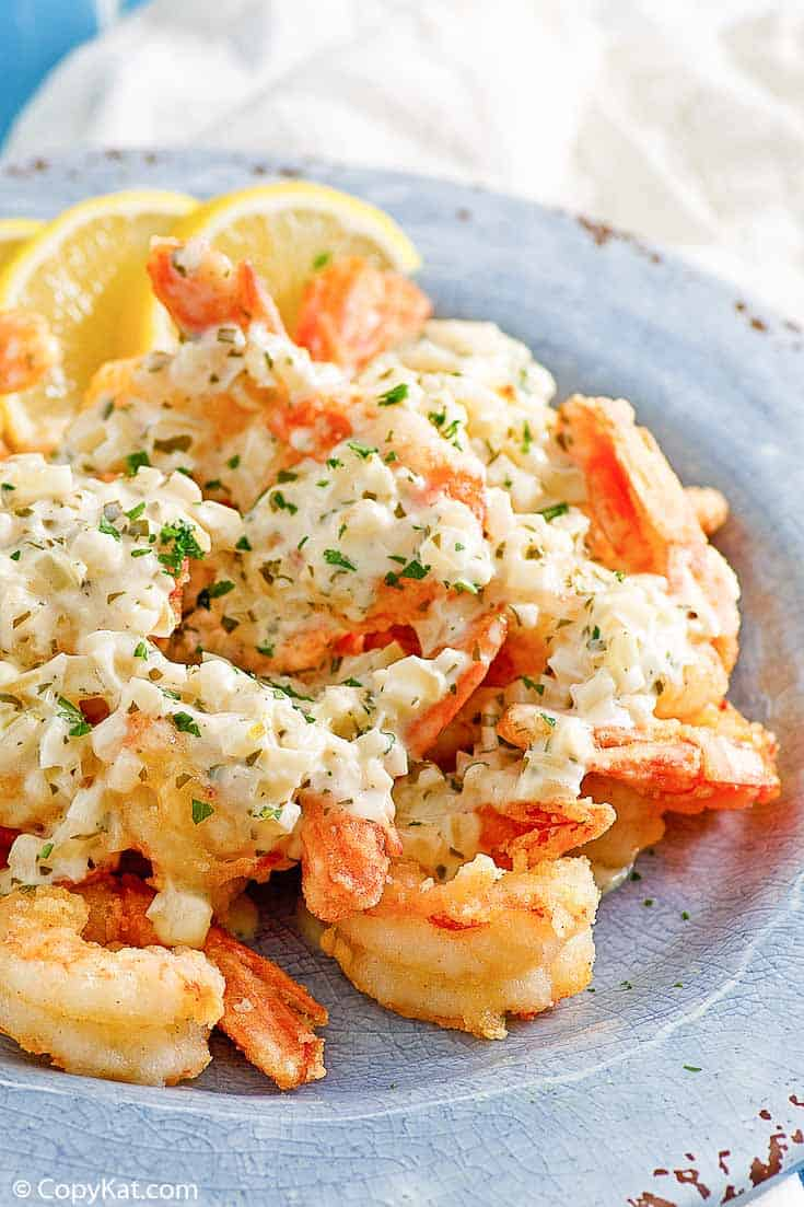 , Olive Garden Classic Shrimp Scampi Fritta