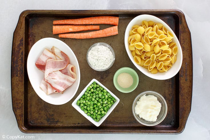 , Suddenly Salad Ranch & Bacon Pasta Salad
